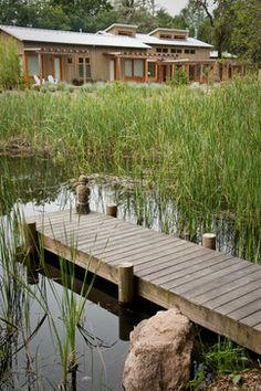Outdoor pond dock Design Ideas, Pictures, Remodel and Decor