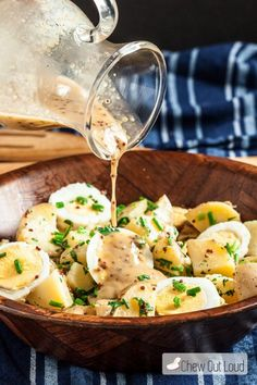 ワンランク上のポテサラ「ハニーマスタード・ポテトサラダ」のレシピ - macaroni