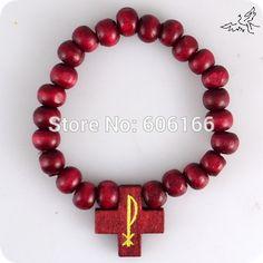 Bracelet croix catholique