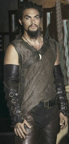 "Jason Momoa as Ronan Dex in ""Stargate Atlantis""."
