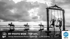 My photo was picked in the Top 10% in the Group Adventures challenge on @twenty20app.