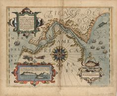 Map of the Straight of Magellan from 1611