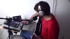 This is me playing a song using a looping app on my tablet. Recording loops as I go, switching them on and off as needed.