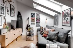 8 Dumbfounding Useful Ideas: Attic Apartment Scandinavian attic staircase entrance.Attic Bedroom Before And After attic ideas lighting. Attic Library, Attic Loft, Attic House, Attic Ladder, Attic Window, Attic Renovation, Attic Remodel, Attic Apartment, Attic Rooms
