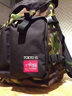 Manhattan Portage Hiker Backpack special edition, huge front pocket :)