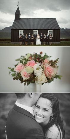 stormy Iceland wedding....beautiful! love the photo at the bottom, genuine happiness!