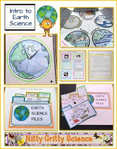 Earth Science Interactive Notebook: Intro to Earth Science
