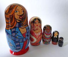 Matryoshka dolls Women Of The World