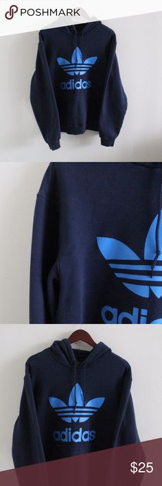 Adidas Hoodie Good used condition.Some discoloration as pictured in the last photo. adidas Tops Sweatshirts & Hoodies