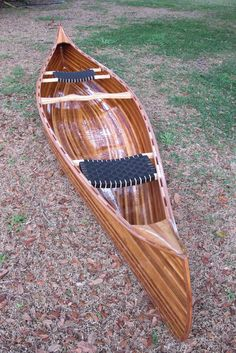 Wood Strip Canoe - by TampaMark @ LumberJocks.com ~ woodworking community