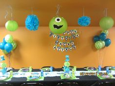 monsters university party ideas - Google Search