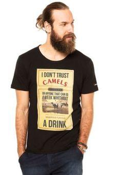Camiseta Sergio K Don't Trust Preto