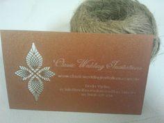 Laser Cut business cards-  http://melbournelasercutter.com.au/laser-cut-business-cards/