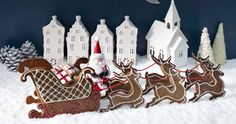 YourHome - Craft - Gingerbread sleigh template