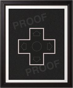 Custom NES Controller Inspired Poster Set  by BentonParkPrints, $40.00