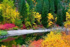 Tumwater Canyon, Washington state
