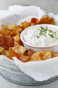 Homemade French Onion Chip Dip