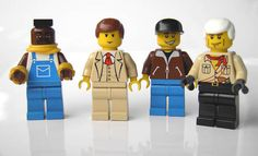 Hahaha! A-Team Legos! Though Murdock and Hannibal look less like their characters than B.A. and Face.