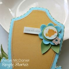 Today I'm up with a handsome little mini album at  SIMPLE STORIES  www.simplestories.com       I created the album with pieces from the SN@...