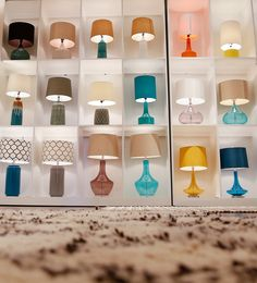 A section of the expanded lighting gallery in the Surya showroom at Atlanta Market @americasmartatl!