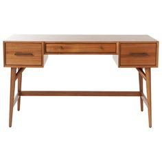 Buy west elm Mid-Century Desk, Acorn Online at johnlewis.com