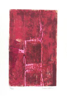 VARIAZIONE ROSSA Serigrafia di Isidoro Cottino stampata su carta Tintoretto Neve 300gr/mq formato 50x70 - 11 colori 120 copie in numeri arabi e 35 in cifre romane Stampatore SERI-GRAFICA di Maurizio Rivetti - Cambiano (TO)  In mostra fino al 15 Gennaio, presso InsideMind, Via Alba 53 Cuneo