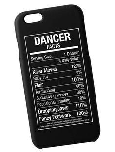 Dancer Fact Case