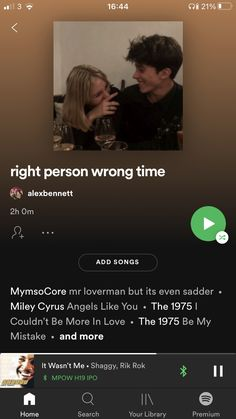 Playlist Ideas, Spotify Playlist, Right Person Wrong Time, The 1975 Me, Mood Songs, Bedroom Vintage, Camera Roll, So Little Time, Names