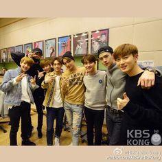 150408 KBS Radio Kong Weibo update - EXO