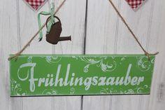 Frühling+schild+holz+shabby+Schriftzug+von+Inas+Nordlichter+auf+DaWanda.com