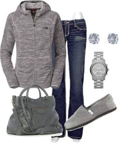 Love this casual comfy look #toms
