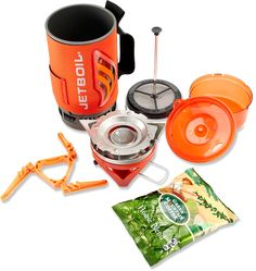 Jetboil Flash Java Kit - Free Shipping at REI.com. This cool kit includes everything you need to enjoy some excellent hot coffee on the go.