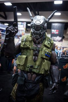 Briareos Hecatonchires - Appleseed Cosplay - #SDCC San Diego Comic Con 2014