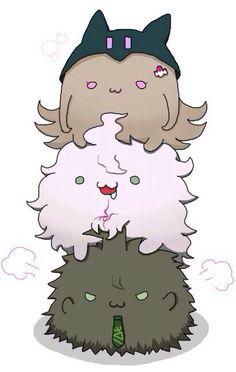 Chiaki, Nagito, & Hajime   Danganronpa
