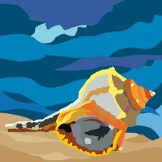 Murice. Adobe Illustrator. Tecnica livelli. Autore Asia Marchetti 3Al