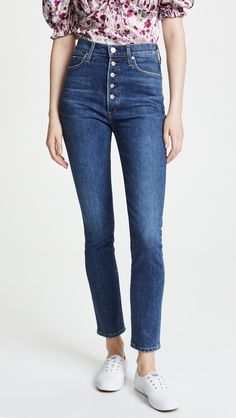 online shopping for Citizens Humanity Olivia Exposed Fly Jeans from top store. See new offer for Citizens Humanity Olivia Exposed Fly Jeans Citizens Of Humanity Jeans, Only Jeans, Keds Champion, Skinny Jeans Style, Button Fly Jeans, High Jeans, Stretch Denim, Casual, How To Wear