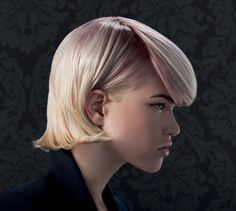 Hair Trends 2013: creation of strong lines, alternating lengths and razor-cutting techniques. Accents of soft color