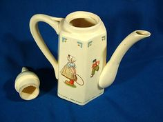 Dutch tea pot (if it were at my house, it would be a chocolate or coffee pot!)