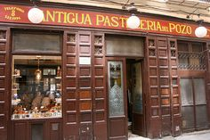 Witht the same décor and counter as when it opened in 1830, the lovely old pastelería known as Antigua Pastilería del Pozo (91 522 38 94) is a beauty, and its cakes are little pieces of perfection.