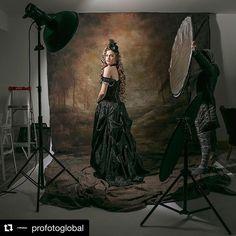 #Behindthescenes from @cindy_snaps's shoot with #ProfotoD2 via @profotoglobal Model: @delaney.vincent.modellingDesign @madamenadinejewel & @thefunkybuttn #Beautyphotography #Flashphotography #Fashionphotography #StudioPhotography #Portraitphotography #Profoto