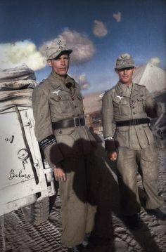 Fallschirmjager North Africa.