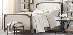Vienne Bed without footboard | Restoration Hardware