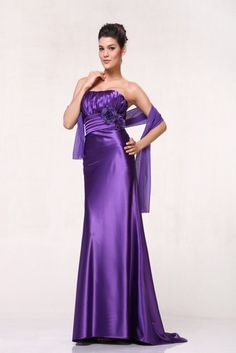 Classic Long Formal Bridesmaids Cheap Prom Dress - The Dress Outlet - 6