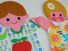 Handmade by alice apple: Make your own puppet family!
