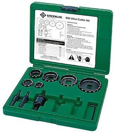 Greenlee 930 Ultra Cutter Kit Free Shipping - NEW