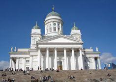 "Helsinki Gay Pride. Helsinki Gay Pride. ""Helsinki Cathedral"""