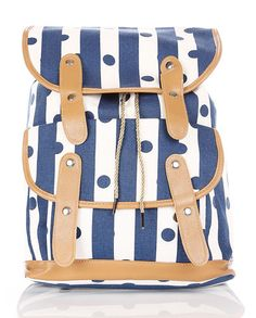 polka-dots-blue-rucksacks-daybag-workbags-PE-COLLEGE-Students-bags-backpacks