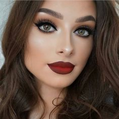 """""""❤ Everything Is Wow About This, Specially Lips/Lipstick ❤ Follow For More Lovely Pictures @featuring_mua ❤ @featuring_mua ❤ #featuring_mua ❤ The…"""""""
