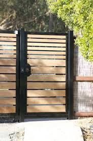 Image result for modern fencing ideas
