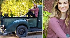 Senior High School Portrait - Captured Moments by Rita and Company - Scottsdale Portrait Photographer posing ideas, a girl and her truck, The Boojum Tree